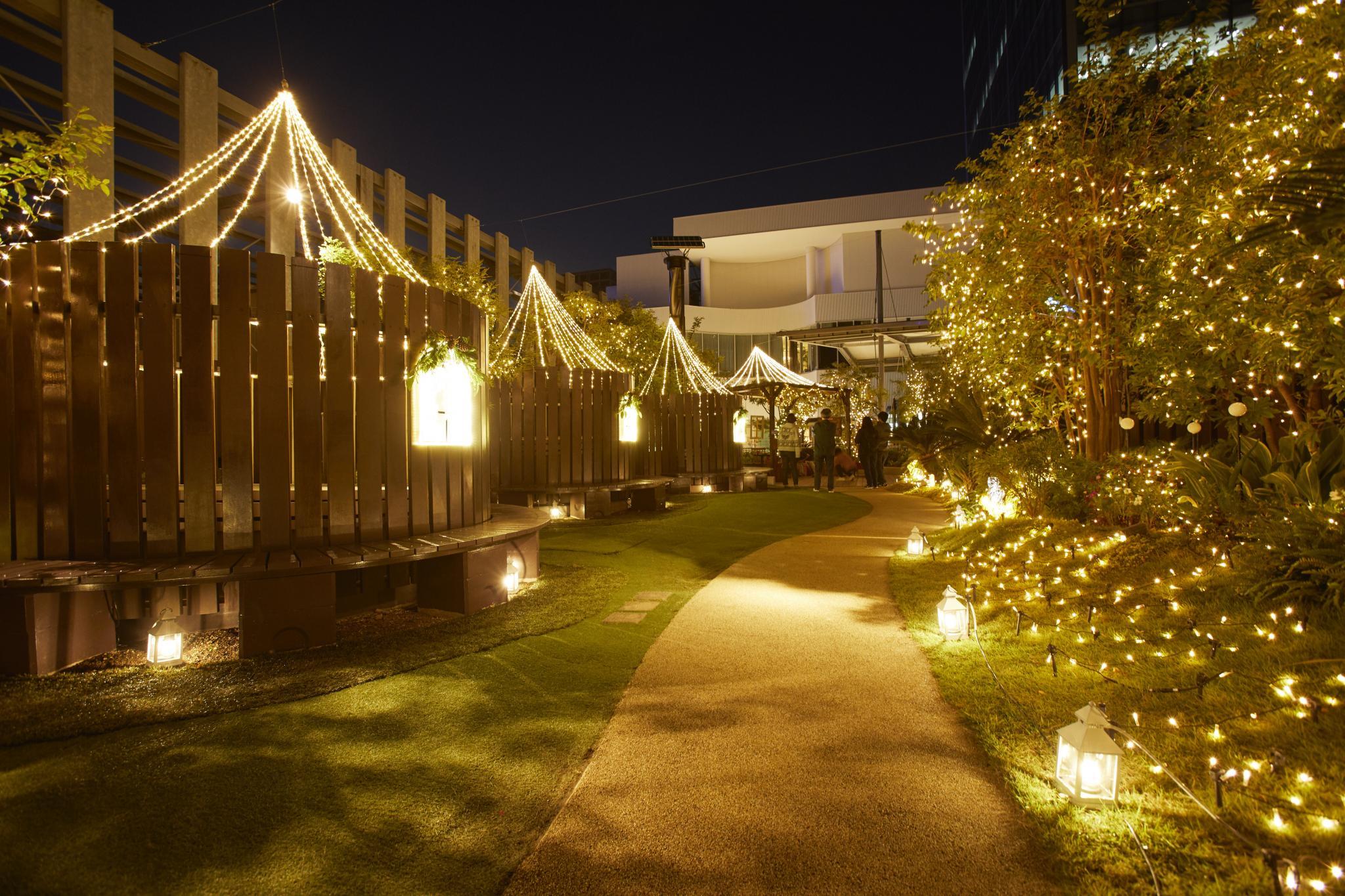 【ガーデン】サンタクロースの庭